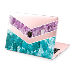 Lex Altern Hard Plastic MacBook Case Geometric Crystal