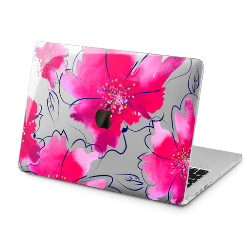 Lex Altern Lex Altern Abstract Flower Case for your Laptop Apple Macbook.