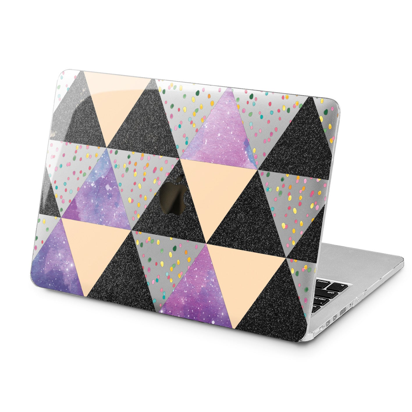 Lex Altern Lex Altern Abstract Confetti Case for your Laptop Apple Macbook.