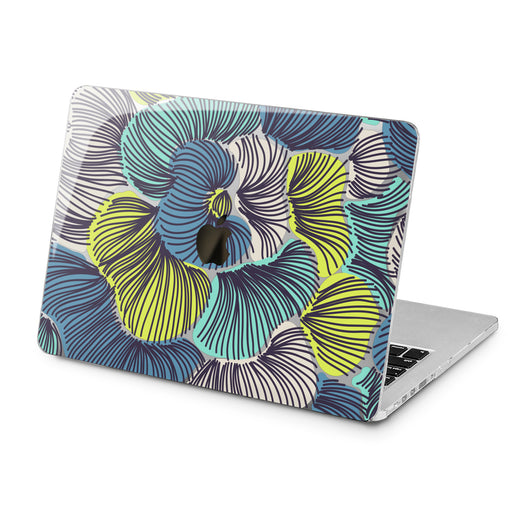 Lex Altern Lex Altern Abstract Petals Case for your Laptop Apple Macbook.