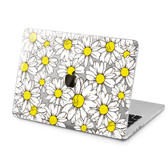 Lex Altern Lex Altern Daisy Pattern Case for your Laptop Apple Macbook.