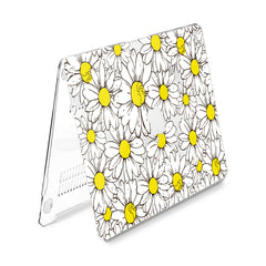 Lex Altern Hard Plastic MacBook Case Daisy Pattern