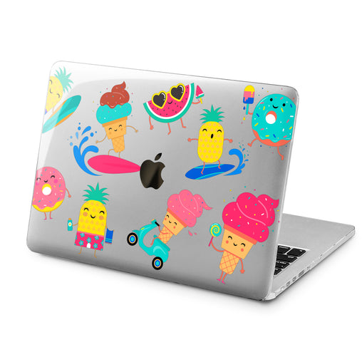 Lex Altern Lex Altern Summer Theme Case for your Laptop Apple Macbook.