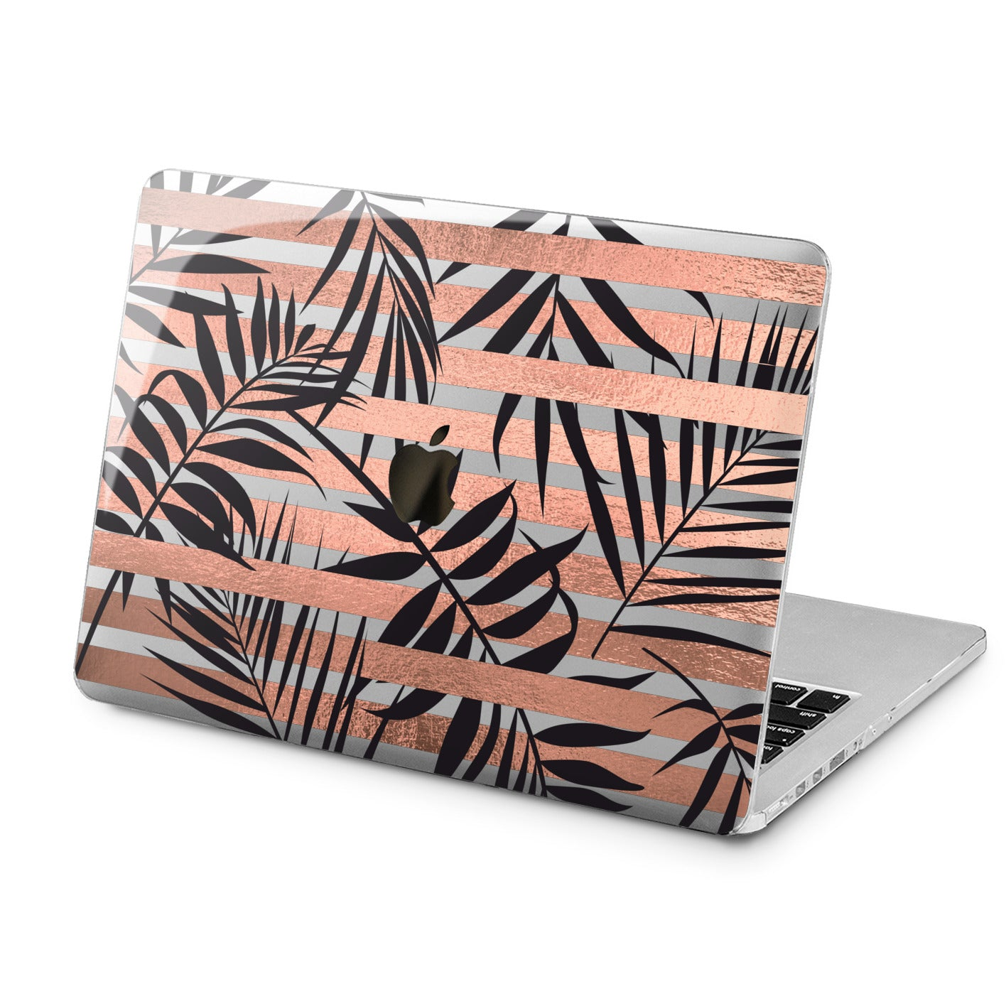 Lex Altern Lex Altern Striped Leaves Case for your Laptop Apple Macbook.