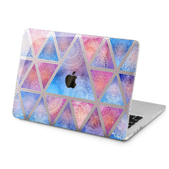 Lex Altern Lex Altern Geometric Mandala Case for your Laptop Apple Macbook.