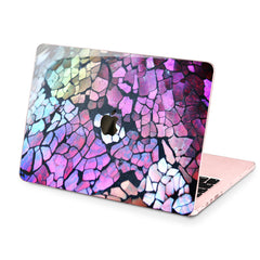 Lex Altern Hard Plastic MacBook Case Cracked Paint
