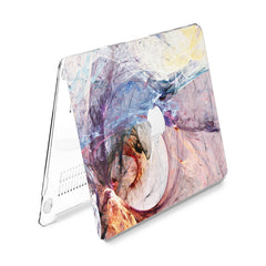 Lex Altern Hard Plastic MacBook Case Abstract Wave