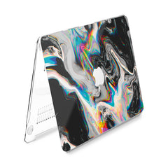 Lex Altern Hard Plastic MacBook Case Glitch Art