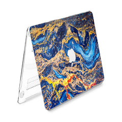 Lex Altern Hard Plastic MacBook Case Colorful Marble