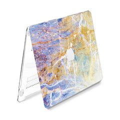 Lex Altern Hard Plastic MacBook Case Colored Marble