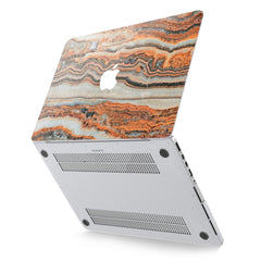 Lex Altern Hard Plastic MacBook Case Marble Texture