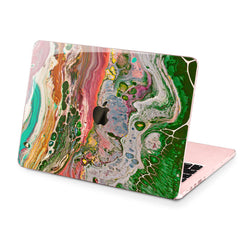 Lex Altern Hard Plastic MacBook Case Painted Marble