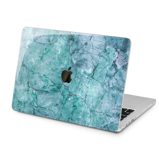 Lex Altern Lex Altern Blue Texture Case for your Laptop Apple Macbook.