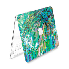 Lex Altern Hard Plastic MacBook Case Abalone Shell
