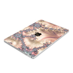 Lex Altern Hard Plastic MacBook Case Pearl Fractal