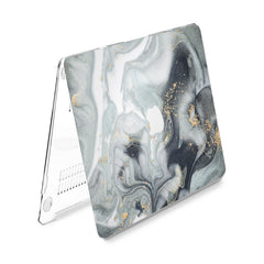 Lex Altern Hard Plastic MacBook Case Grey Paint