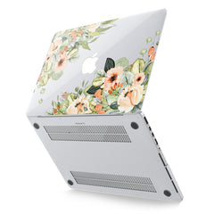 Lex Altern Hard Plastic MacBook Case Spring Bouquet
