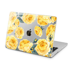 Lex Altern Lex Altern Yellow Roses Case for your Laptop Apple Macbook.