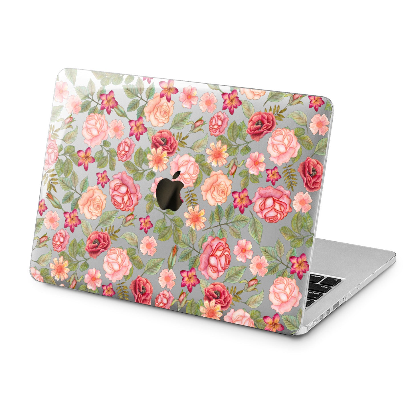 Lex Altern Lex Altern Cute Roses Theme Case for your Laptop Apple Macbook.