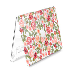 Lex Altern Hard Plastic MacBook Case Cute Roses Theme