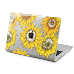 Lex Altern Lex Altern Bright Sunflowers Case for your Laptop Apple Macbook.