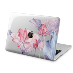 Lex Altern Lex Altern Tender Pink Lotuses Case for your Laptop Apple Macbook.