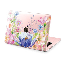 Lex Altern Hard Plastic MacBook Case Floral Composition