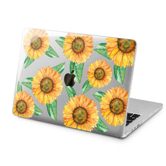 Lex Altern Lex Altern Colorful Sunflowers Case for your Laptop Apple Macbook.