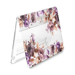 Lex Altern Hard Plastic MacBook Case Botanical Garden Flowers