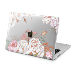 Lex Altern Lex Altern Gentle Roses Case for your Laptop Apple Macbook.