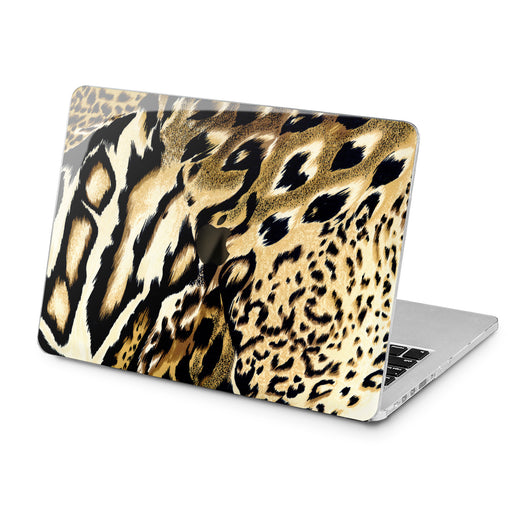 Lex Altern Lex Altern Cheetah Leather Case for your Laptop Apple Macbook.