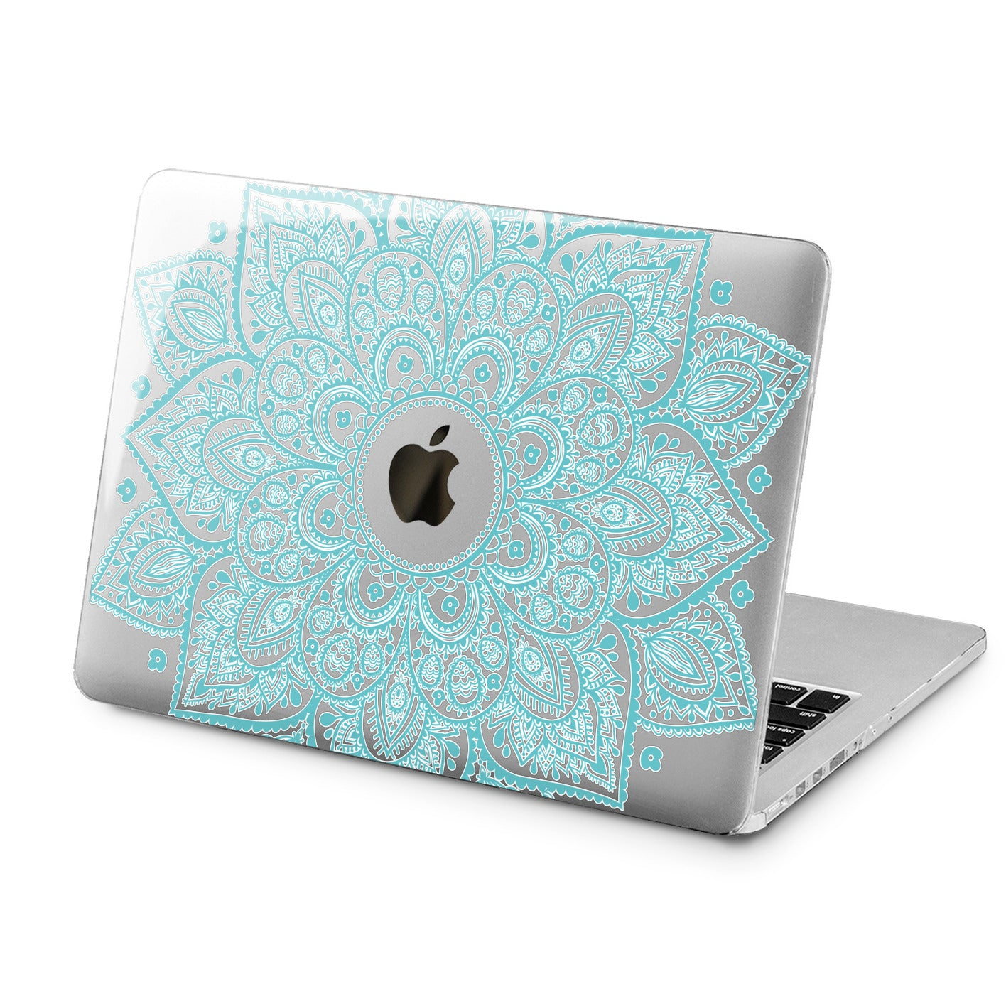 Lex Altern Lex Altern Blue Mandala Case for your Laptop Apple Macbook.