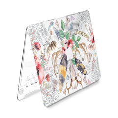 Lex Altern Hard Plastic MacBook Case Ethnic Composition