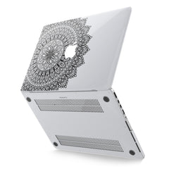 Lex Altern Hard Plastic MacBook Case Elegant Mandala