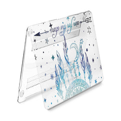 Lex Altern Hard Plastic MacBook Case Blue Dreamcatcher