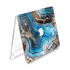 Lex Altern Hard Plastic MacBook Case Agate Stone