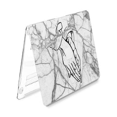 Lex Altern Hard Plastic MacBook Case Drake Marble