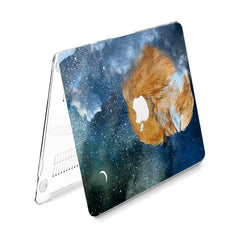 Lex Altern Hard Plastic MacBook Case Painted Sleepy Fox
