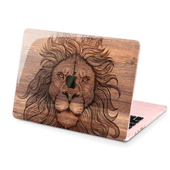 Lex Altern Hard Plastic MacBook Case Lion Theme