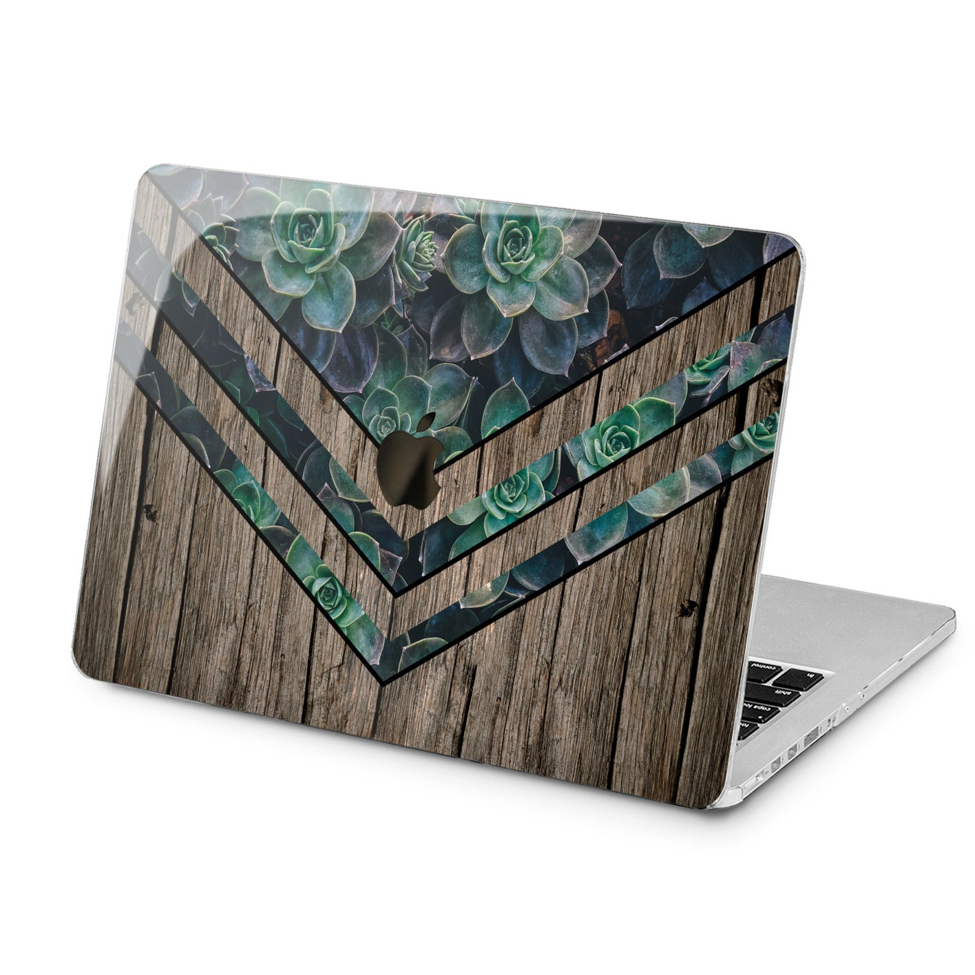 Lex Altern Lex Altern Green Plants Theme Case for your Laptop Apple Macbook.
