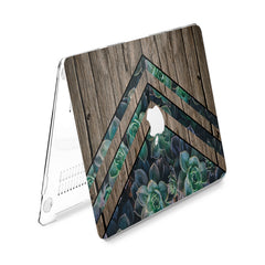 Lex Altern Hard Plastic MacBook Case Green Plants Theme