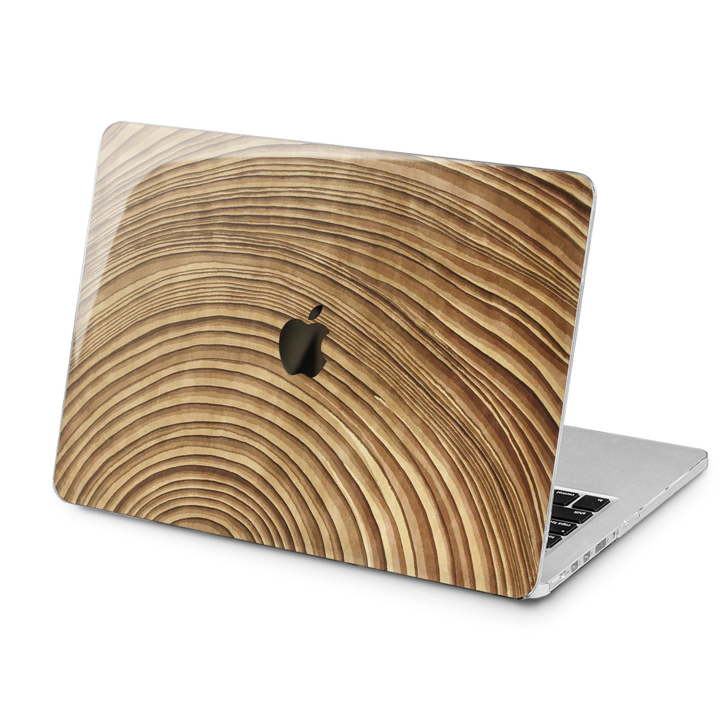 Lex Altern Lex Altern Rounded Wooden Art Case for your Laptop Apple Macbook.