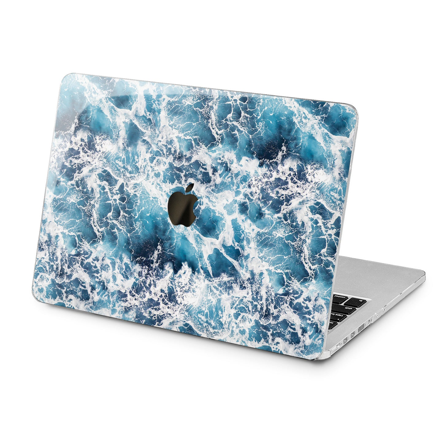 Lex Altern Lex Altern Ocean Waves Case for your Laptop Apple Macbook.