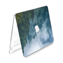 Lex Altern Hard Plastic MacBook Case Foggy Forest