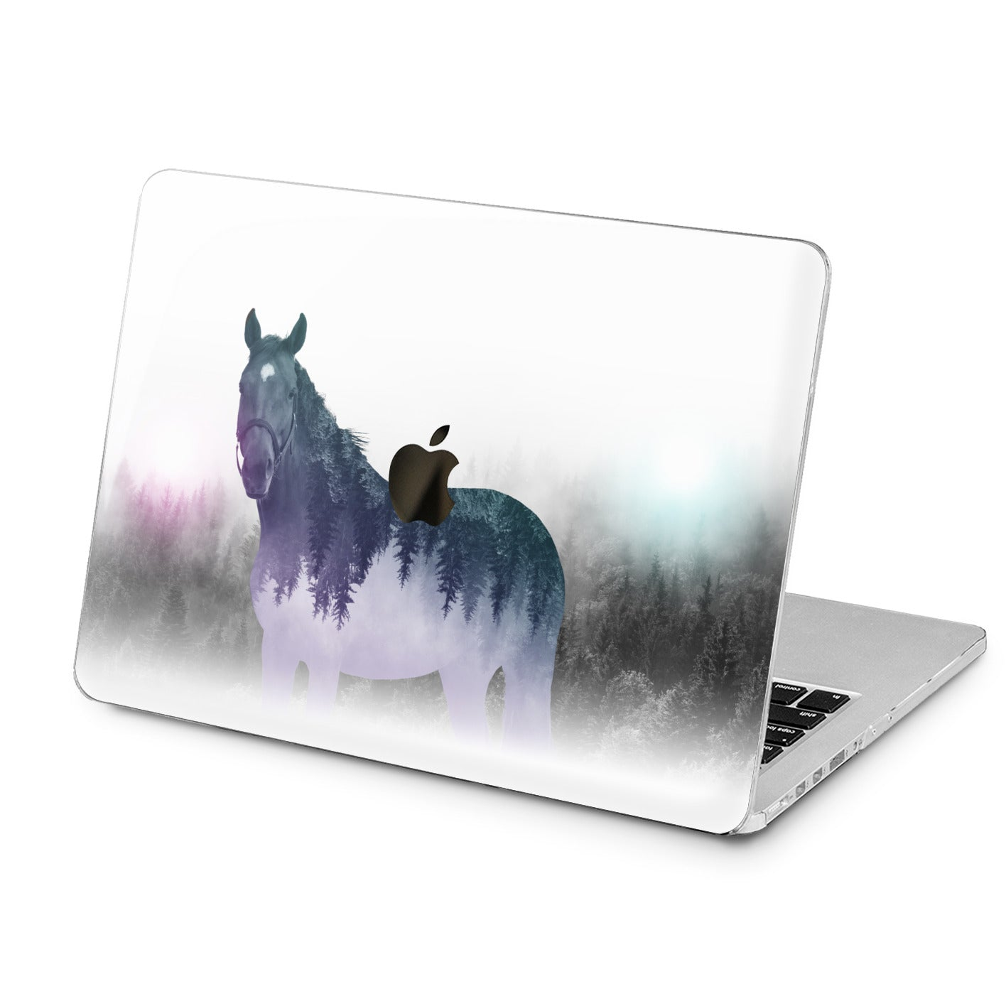 Lex Altern Lex Altern Abstract Horse Case for your Laptop Apple Macbook.