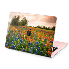 Lex Altern Hard Plastic MacBook Case Flower Field