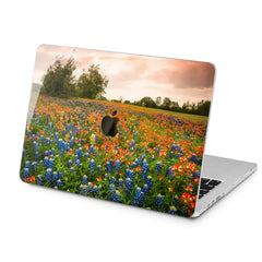 Lex Altern Lex Altern Flower Field Case for your Laptop Apple Macbook.