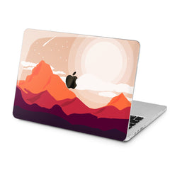 Lex Altern Lex Altern Graphic Mountains Case for your Laptop Apple Macbook.