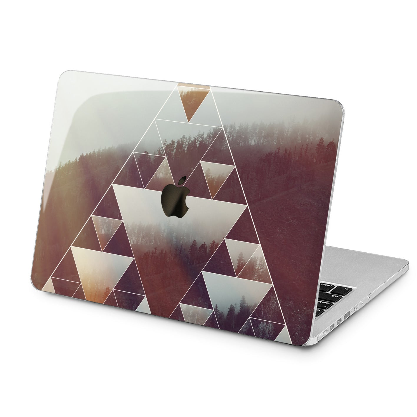 Lex Altern Lex Altern Geometric Forest Case for your Laptop Apple Macbook.