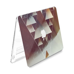 Lex Altern Hard Plastic MacBook Case Geometric Forest
